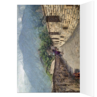 The Great Wall of China Card