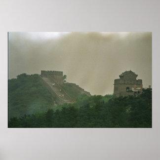 The Great Wall of China, China Poster