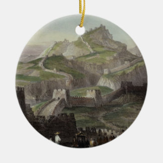 The Great Wall of China, from 'China in a Series o Ceramic Ornament