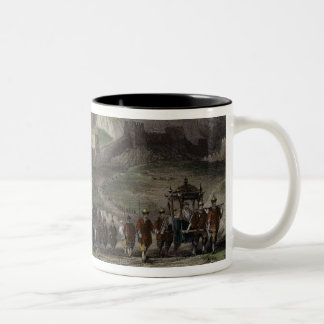 The Great Wall of China, from 'China in a Series o Two-Tone Coffee Mug