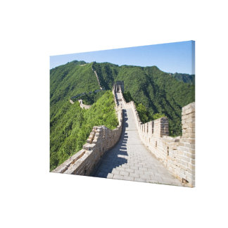 The Great Wall of China in Beijing, China Canvas Print