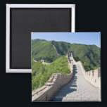 """The Great Wall of China in Beijing, China Magnet<br><div class=""""desc"""">The Great Wall of China.  Great Cities Photographed by Getty Images.  AssetID: 96588865 / {GYRO PHOTOGRAPHY/amanaimagesRF} / The Great Wall of China in Beijing, </div>"""