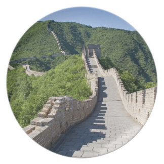 The Great Wall of China in Beijing, China Melamine Plate