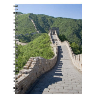 The Great Wall of China in Beijing, China Spiral Notebook