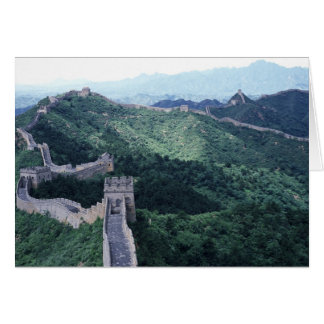 The Great Wall of China near Beijing Card