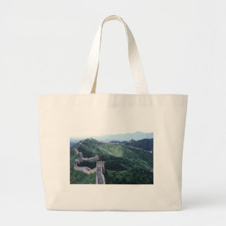 The Great Wall of China near Beijing Large Tote Bag