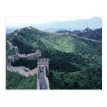 The Great Wall of China near Beijing Postcard