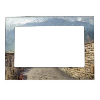 The Great Wall of China Picture Frame Magnet