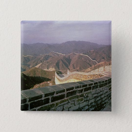 The Great Wall of China Pinback Button