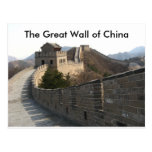 The Great Wall of China Post Card