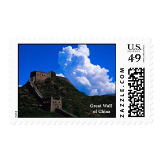 The Great Wall of China Postage Stamps
