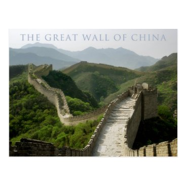 sumners the great wall of china postcard