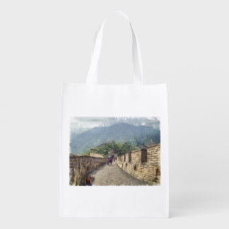The Great Wall of China Reusable Grocery Bag