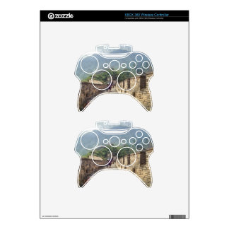 The Great Wall of China Xbox 360 Controller Decal