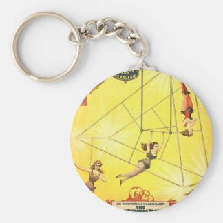 The great Wallace shows An innovation in aerialism Keychain