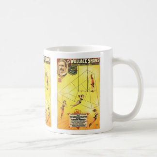 The great Wallace shows An innovation in aerialism Coffee Mugs