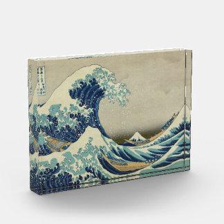 The Great Wave Acrylic Award