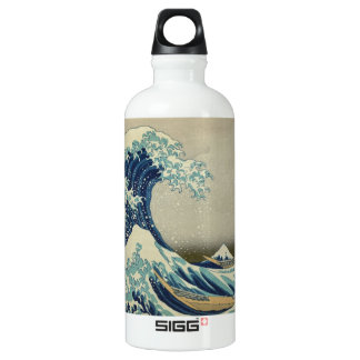 The Great Wave Aluminum Water Bottle