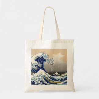 the great wave canvas bag