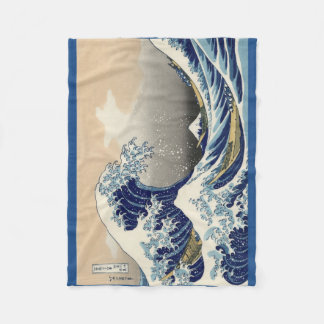 the great wave blanket