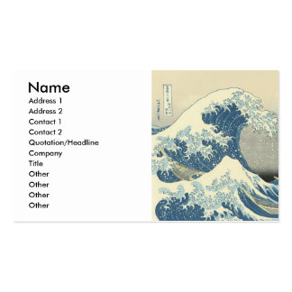 The Great Wave Business Card