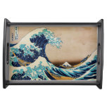The Great Wave by Hokusai Japanese Serving Tray