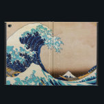 """The Great Wave by Hokusai Powis iPad Air 2 Case<br><div class=""""desc"""">The Great Wave off Kanagawa (神奈川沖浪裏) is a vintage ukiyo-e woodblock print by Japanese artist Katsushika Hokusai,   made sometime between 1829 and 1832 - first in the series of the Thirty-six Views of Mount Fuji.  Customizable vintage Japanese art iPad cases.</div>"""