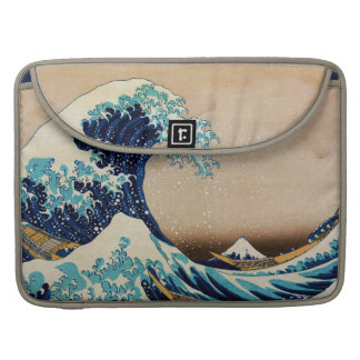 The Great Wave by Hokusai Sleeves For MacBook Pro
