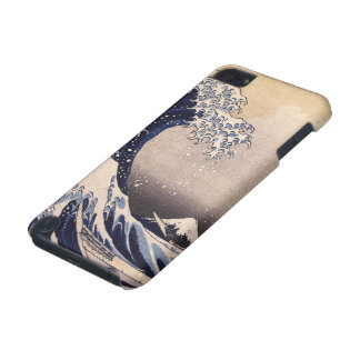 The Great Wave by Hokusai, Vintage Japanese Art iPod Touch 5G Cases