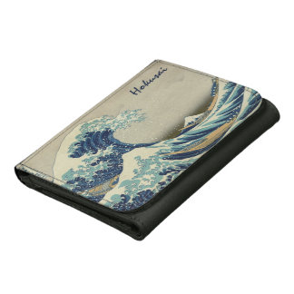 The Great Wave by Hokusai, Vintage Japanese Art Wallet
