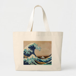 The Great Wave by Hokusai Vintage Japanese Bag