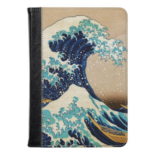 The Great Wave By Hokusai Vintage Japanese Kindle Case at Zazzle