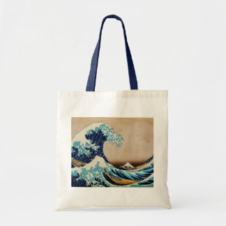 The Great Wave by Hokusai Vintage Japanese Tote Bag