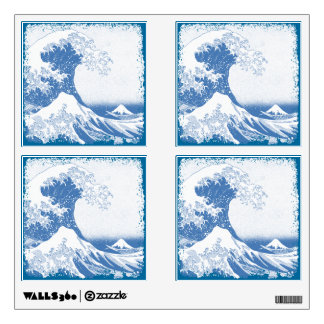 """The Great Wave"" Collage Wall Sticker"