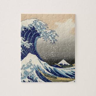 The Great Wave copy of Hokusai s original c 1930 Puzzle
