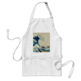 The Great Wave Customs Adult Apron