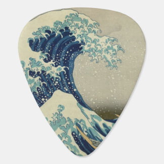 The Great Wave Guitar Pick
