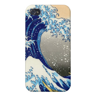 The Great Wave - Hokusai Cover For iPhone 4