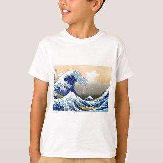 The Great Wave - Hokusai T-Shirt