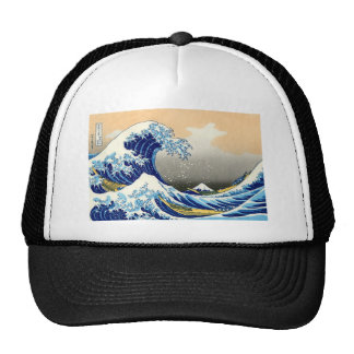 The Great Wave - Hokusai Trucker Hat