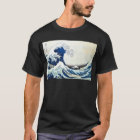 """The Great Wave"" Japanese Painting by Hokusai T-Shirt"