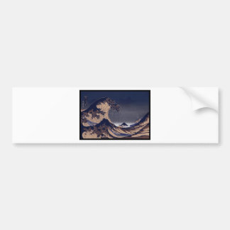 The Great Wave, Japanese painting c. 1830-1832 Bumper Sticker