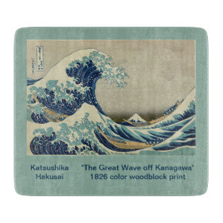 The Great Wave - Katsushika Hokusai Cutting Board