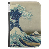 The Great Wave Kindle Folio Kindle Covers