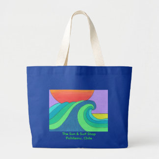 The Great Wave Large Tote Bag