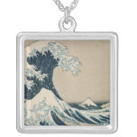The Great Wave of Kanagawa Personalized Necklace