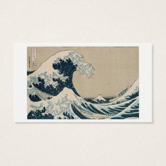 The Great Wave of Kanagawa, Views of Mt. Fuji Business Card