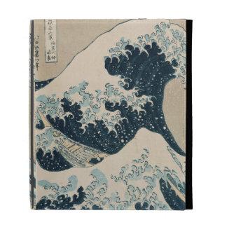 The Great Wave of Kanagawa, Views of Mt. Fuji iPad Folio Cases