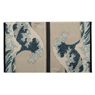 The Great Wave of Kanagawa, Views of Mt. Fuji iPad Folio Covers