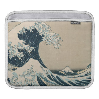The Great Wave of Kanagawa, Views of Mt. Fuji iPad Sleeve